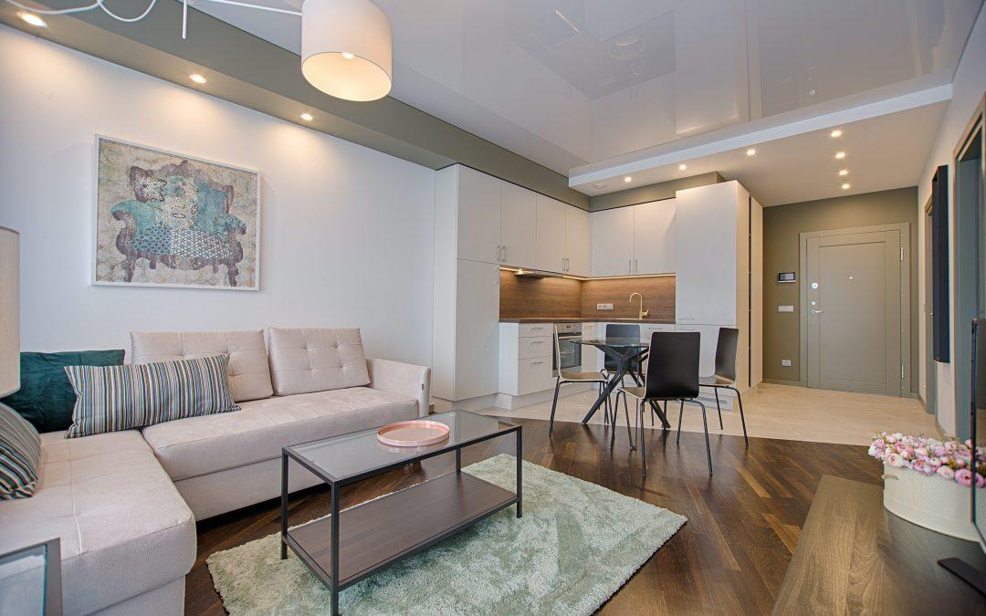 Living room interior home design